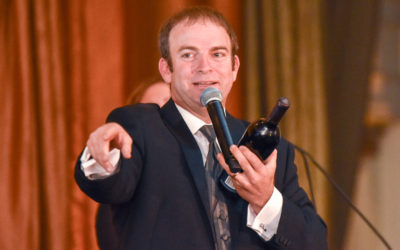 Auctioneer puts heart into charity events